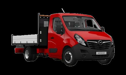 Noleggio lungo termine Opel MOVANO a partire da Euro 338 i.e.