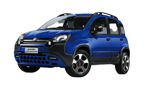 Fiat PANDA 1.0 70cv S&S Hybrid E6d-T City Cross a Noleggio