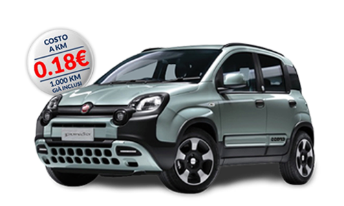 Fiat PANDA 1.0 70cv S&S Hybrid City Cross a Noleggio