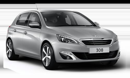 Noleggio lungo termine Peugeot 308 a partire da Euro 341 i.e.
