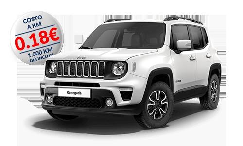 Jeep Renegade 1.6 MJet 120cv Longitude a Noleggio