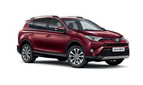 Noleggio lungo termine Toyota RAV4 a partire da 334 €