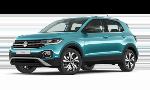 Noleggio lungo termine Volkswagen T-Cross a partire da Euro 283 i.e.